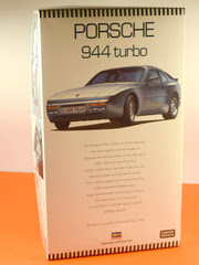 Maqueta de coche 1/24 Hasegawa - Porsche 944 Turbo   - maqueta de plástico
