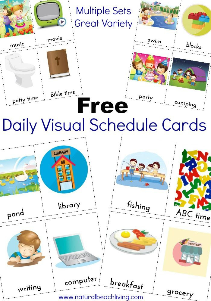 This Wonderful Daily Visual Schedule is exactly what everyone ...