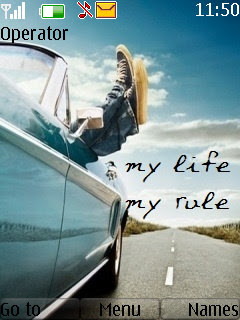 My Life My Rule S40 Theme