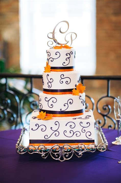 25  Best Ideas about Orange Wedding Cakes on Pinterest
