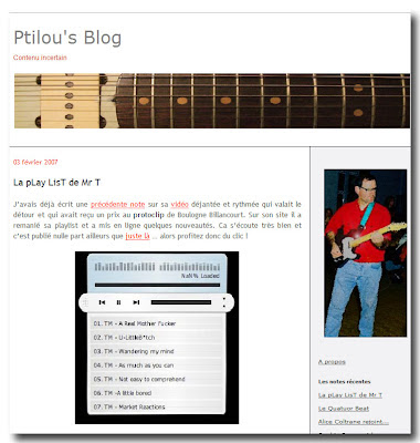 Lien vers le site web Ptilou's Blog