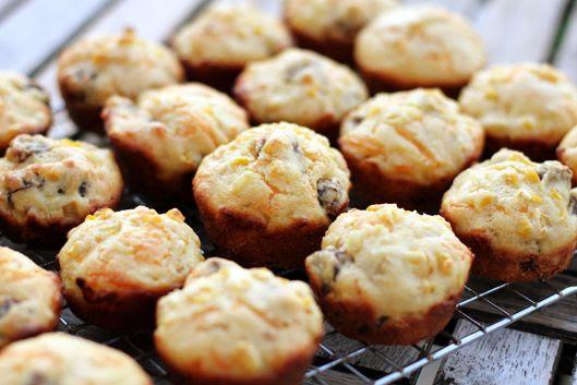 Cheddar Sausage Breakfast Muffins