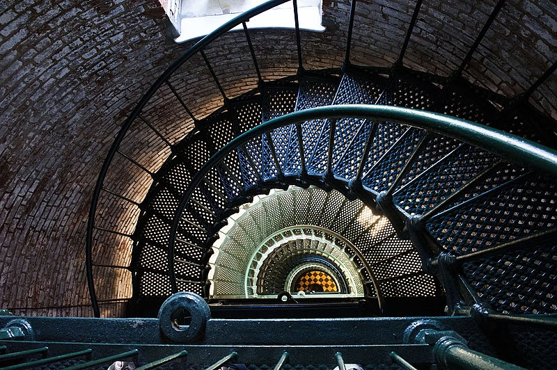 File:Currituck Beach Light - stairs.jpg