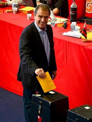Kleber Leite eleição Flamengo  (Foto: Nelson Veiga / Globoesporte.com)
