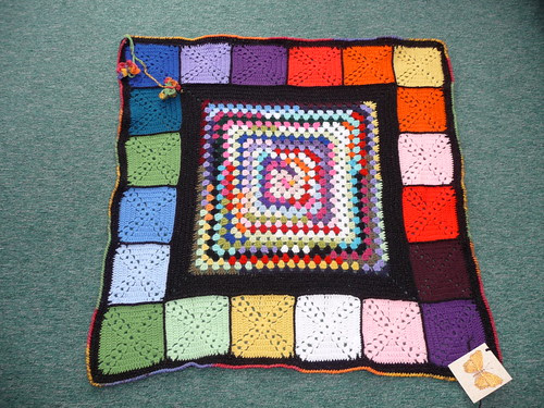 A stunning vibrant Blanket! Thank you so much!