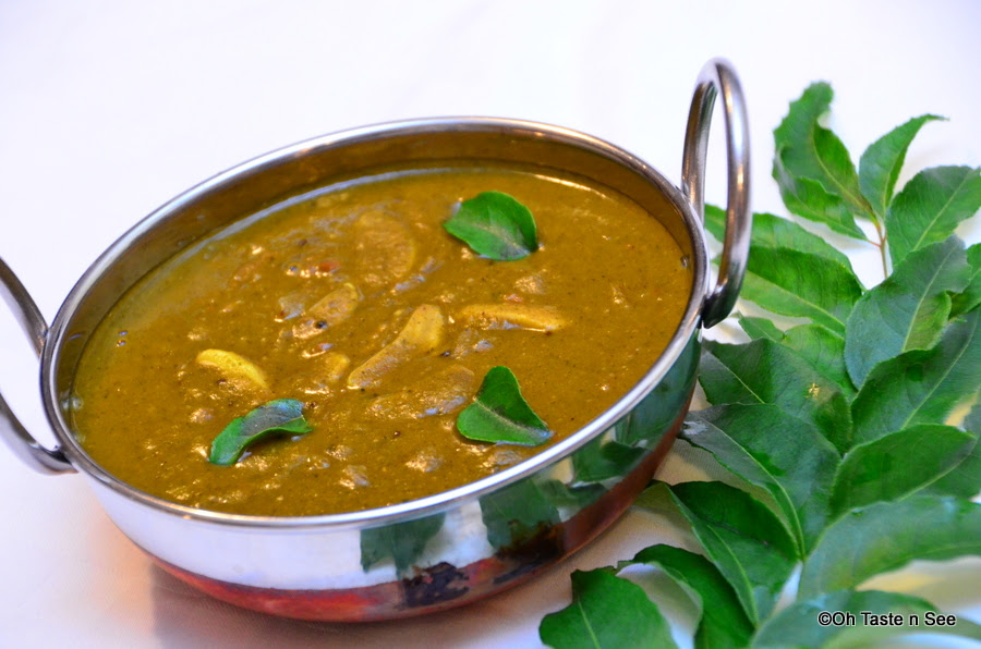 Curry leaves spicy gravy