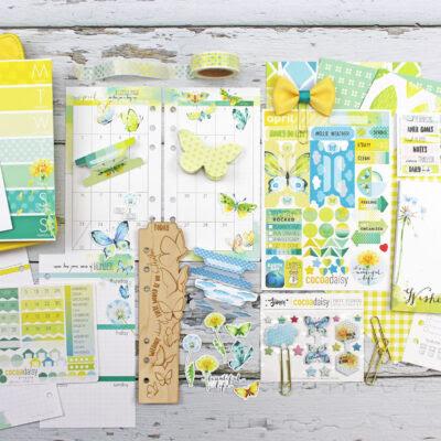 Day Planner Kits   Cocoa Daisy