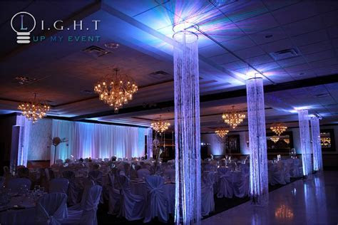 Crystal Chandeliers, Light Pillars, Event Trees