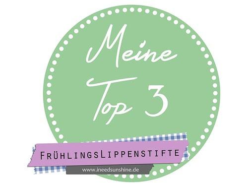 Meine Top 3 Frühlingslippenstifte Blogparade