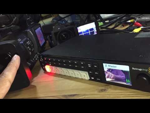 How To Set Up The Blackmagic Atem Television Studio Hd With Obs