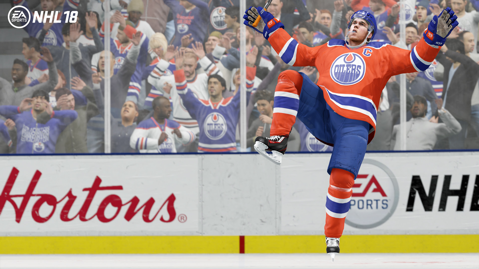 Edmonton Oilers star Connor McDavid is NHL 18's cover athlete screenshot