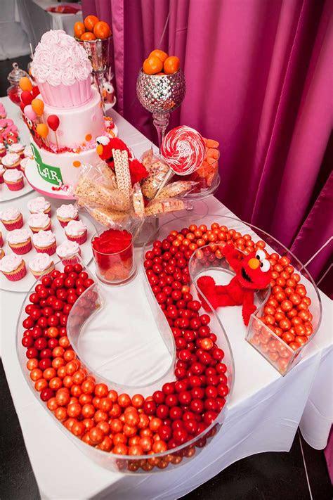 elmo themed  birthday party  celebration society