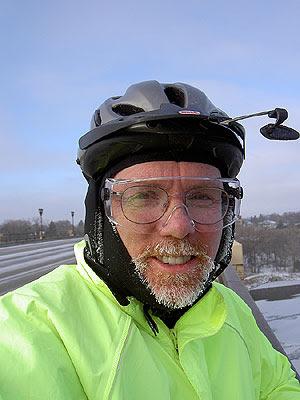 Frosty Matt on Lake Street Bridge