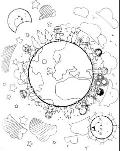 Personnages Enfants Du Monde