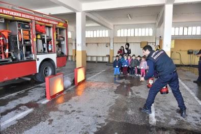 Ankara Itfaiyesinin Minik Misafirleri Ankara Iline Bağlı Keçiören