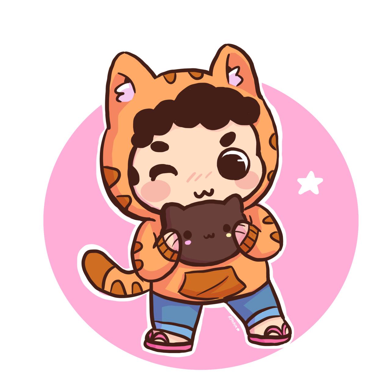 cat hoodie ;3