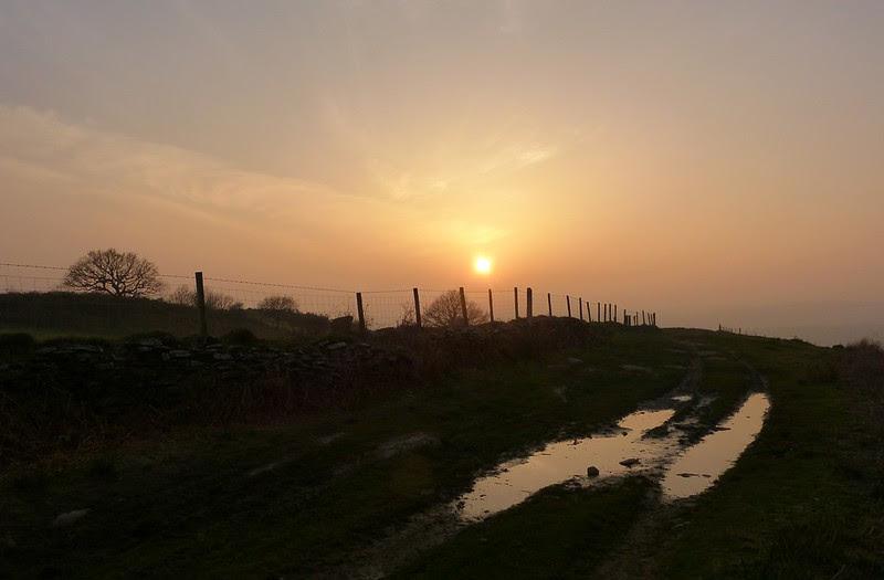 P1070055 - Sunset, Gopa Hill