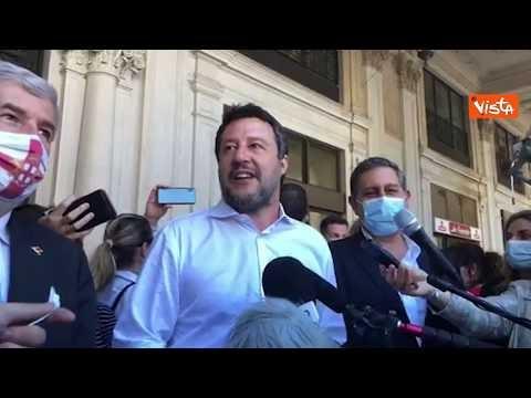 """Salvini: """"Surreale che ministro infrastrutture sia a Imperia per inaugurare pista ciclabile"""""""