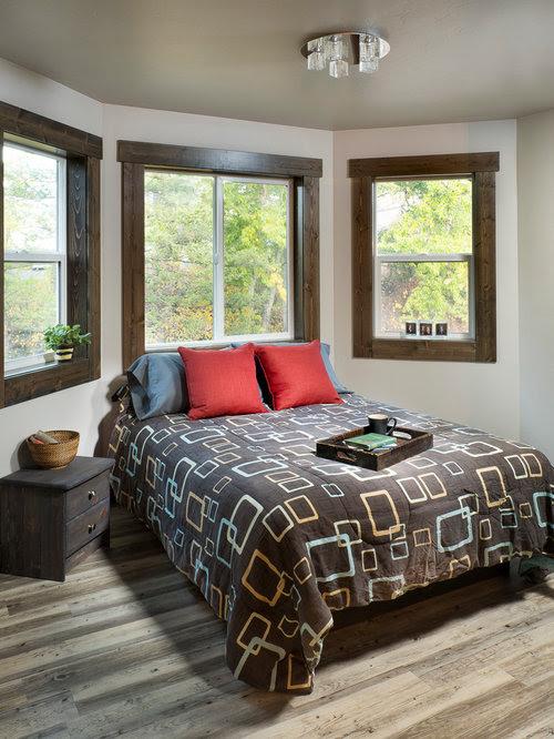 Grey Bedroom Design Ideas, Renovations & Photos with Vinyl ...