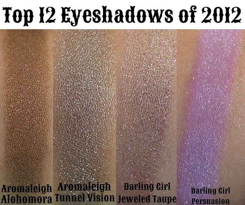 top 12 eyeshadows of 2012