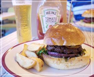 恵比寿でハンバーガーなお昼御飯。