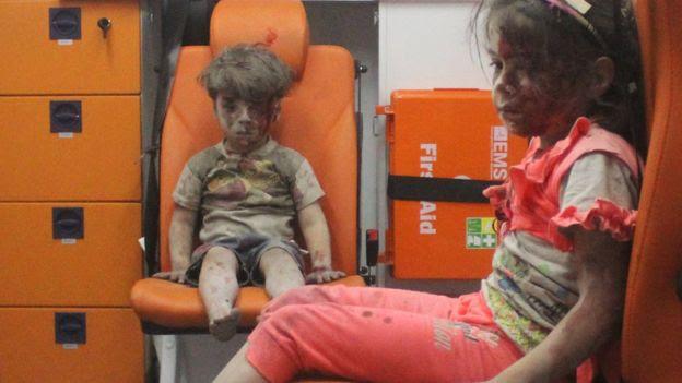 Resultado de imagem para crianças Aleppo