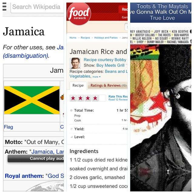 Jamaican Night.