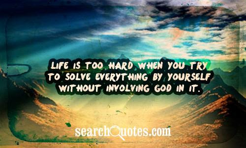 Trust In God Problem Solving Quotes Trust In God Quotes About