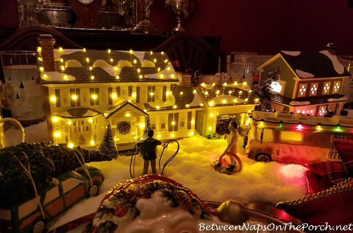 Download A Christmas Vacation Table Setting with Department 56 Lit ...