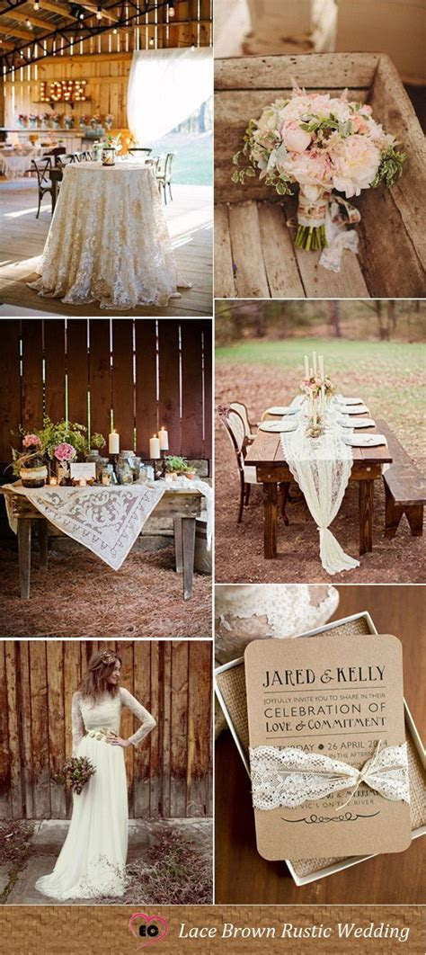 Best Wedding Color Palettes For Lace Theme Weddings   My