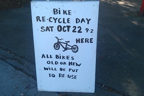 Bike recycling - Oct 22