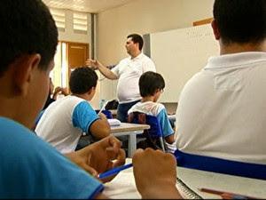 professor sala de aula (Foto: Reprodução/TV Globo)