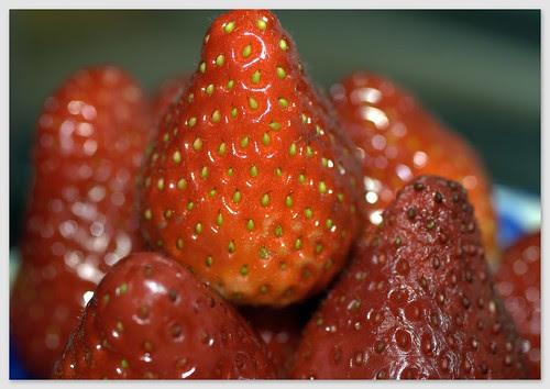 fresas para merendar