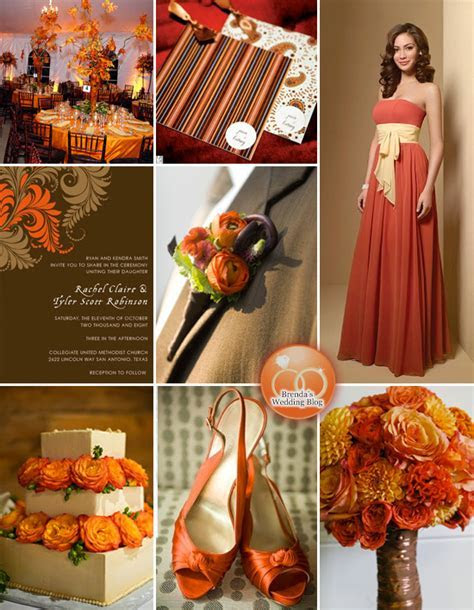 Fall and Autumn Theme Parties and Wedding Ideas