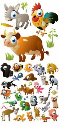91 Gambar Binatang Lucu Kartun Gratis