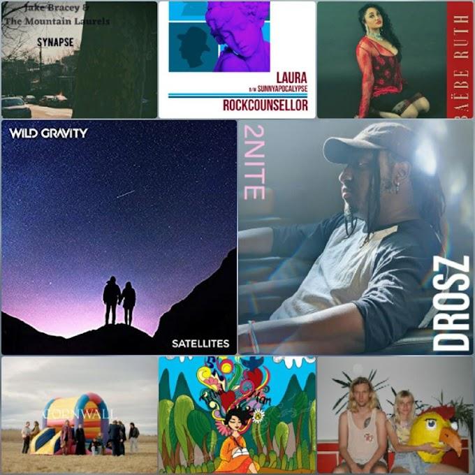 MUSO SOUP SINGLES #42.2: Wild Gravity, Slowride, Manuka, Drosz, Kubota e mais passando pelo Rock, Folk, Hip-Hop e R&B