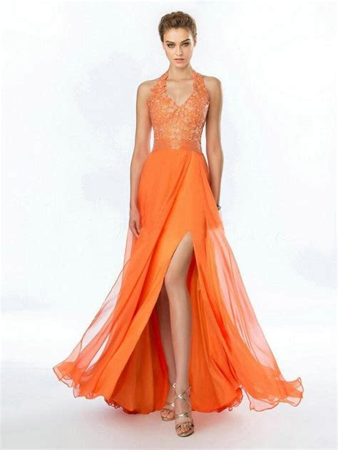 Online Buy Wholesale orange bridesmaid dresses from China