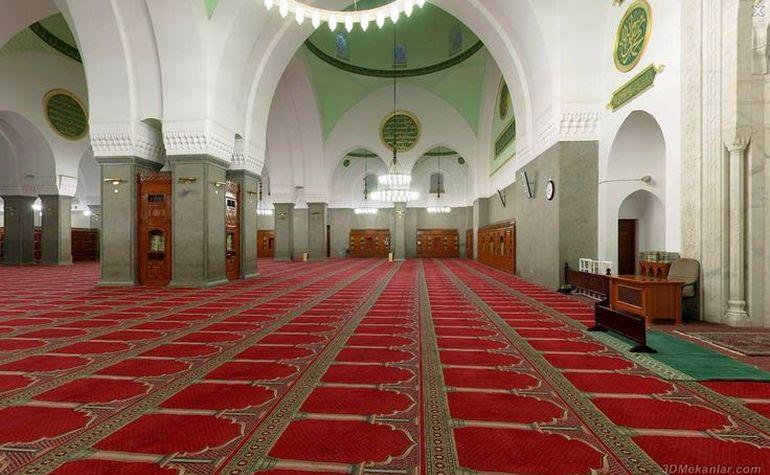 Interior of Masjid Quba