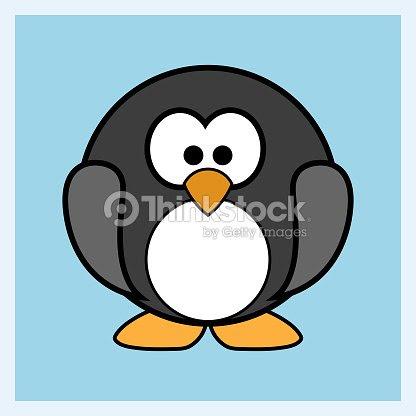 Personaje De Dibujos Animados De Pinguinos En Whatsapp Arte