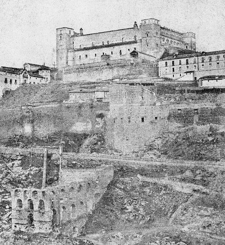 Restos del Artificio de Juanelo antes de 1868