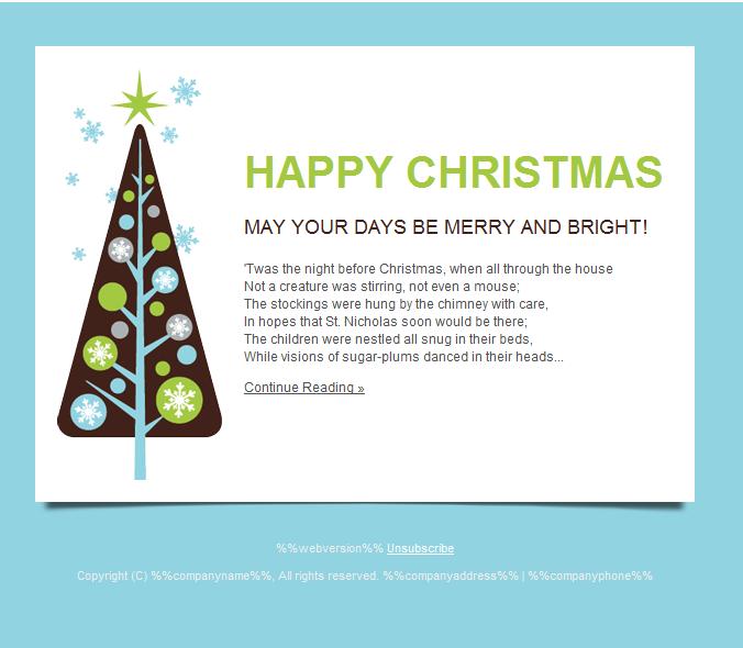 Christmas Wishes Email Signature - Xmast 4
