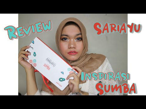 #Review Sariayu Color Trend Inspirasi Sumba | Makeup Lokal