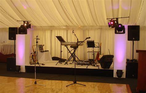 Wedding Live Band Equipment London   Sound Engineers