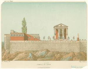 Temple of Cora as restored by ... Digital ID: 1625087. New York Public Library