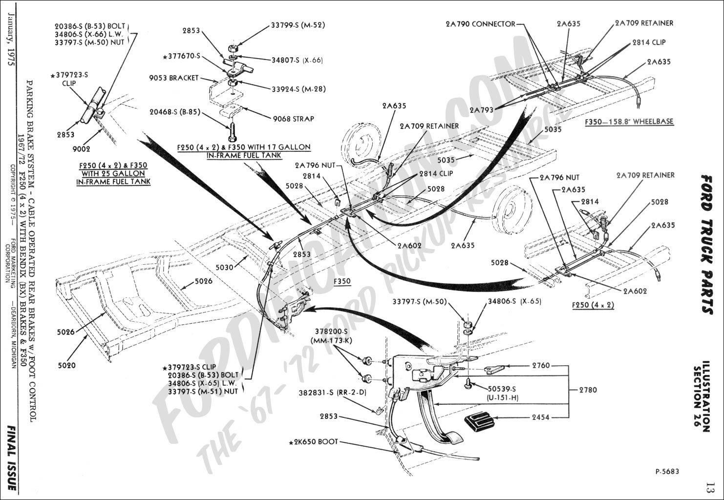 1996 Ford f250 brake line diagram