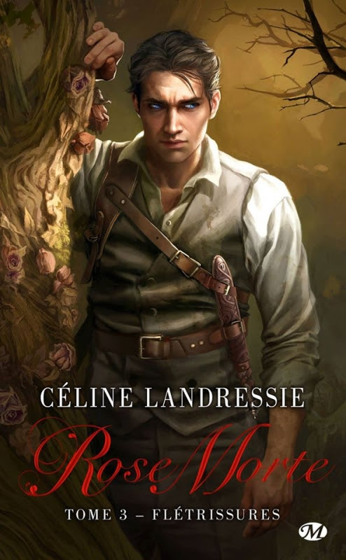 Couverture Rose morte, tome 3 : Flétrissures