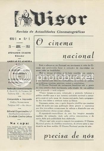 Ficha Técnica e Editorial da Visor nº 1 * Image hosted by Photobucket.com