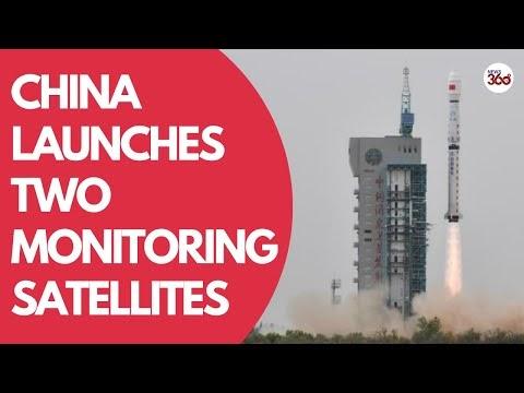 China launches two environmental monitoring satellites