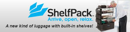 ShelfPack - revolutionary luggage with shelves!