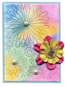 Funky floral ATClores